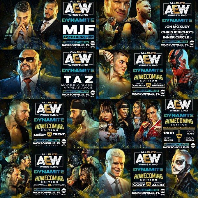 Resultado de imagem para AEW Dynamite homecoming